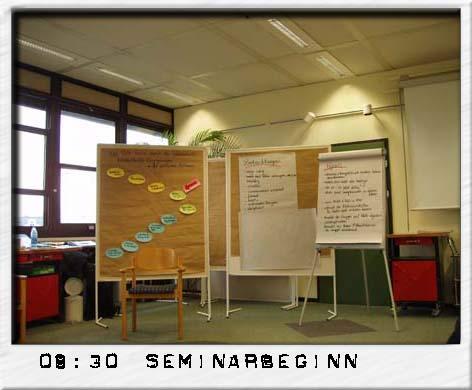 Seminarbeginn- Psychologische Gruppenleitung und Evaluation