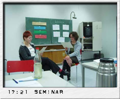 Mitten im Seminar Qualitatives Forschen