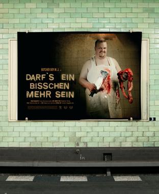 Werbung für mehr